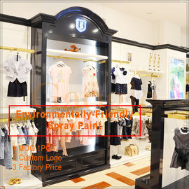 China clothing store display design/clothing display racks fábrica